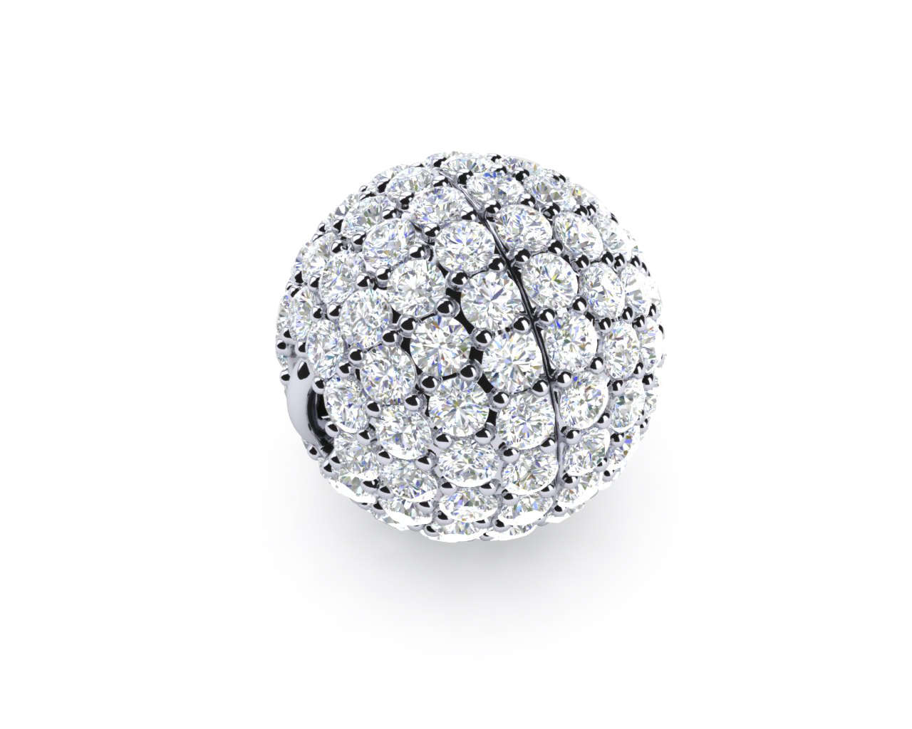 image finnies satinised uncategorised diamond pendant ball the rose centre white and jewellers double