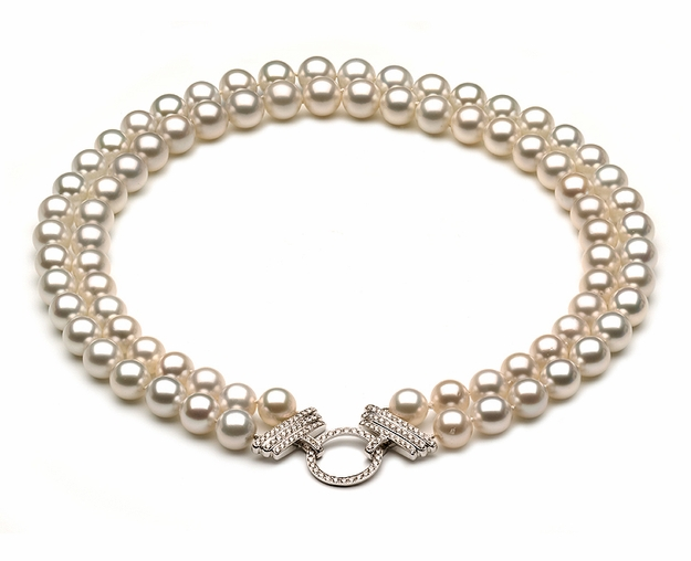 10mm Golden Pearl Necklace South Sea