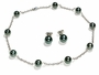 10mm to 10.5mm Natural Color Tahitian South Sea Cultured Pearl Necklace