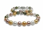 10mm to 12mm Tahitian & Freshwater Multicolor Necklace