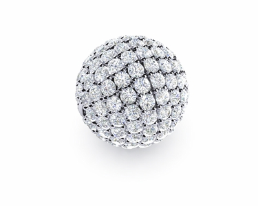 11mm Diamond Ball Clasp