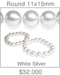 11x15mm South Sea Pearl Necklace