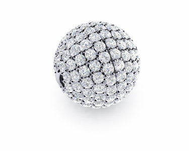 12mm Diamond Ball Clasp