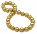 13.1 x 14.9mm Golden South Sea Necklace