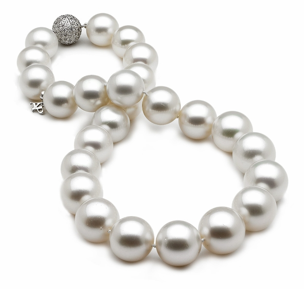 13 x 17mm White South Sea Pearl Necklace
