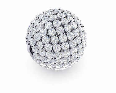 13mm Diamond Ball Clasp