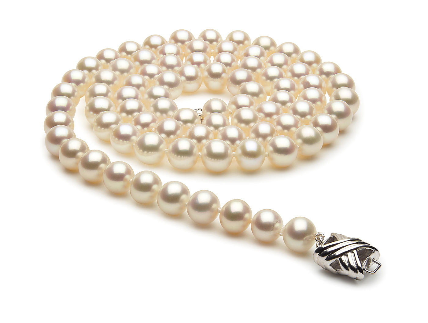 28 Inch 7.5mm x 8mm Freshwater Cultured Pearl Necklace
