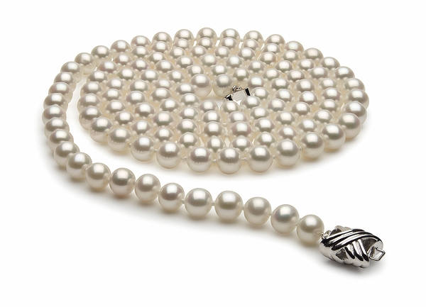 36 Inch 6.5 x 7.0mm White Freshwater Pearl Necklace