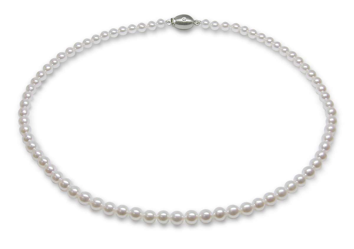 japanese necklace quality aaa pearl white pearls akoya jewellery