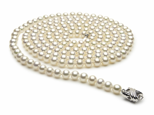 cultured necklace collection x pearl american quality