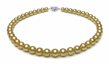 7.7 x 9.9mm Tahitian Pearl Necklace Serial Number   s9-dr06311g-b39