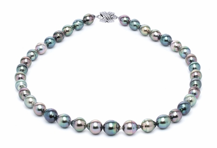 8 x 10mm Tahitian Pearl Necklace Serial Number | s10-multi-color-b15