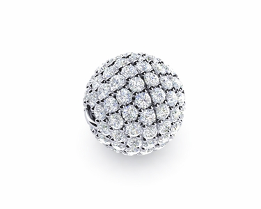 9mm Diamond Ball Clasp
