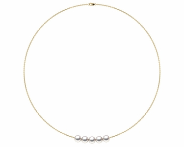 AAA Quality Add Pearl Necklaces�5 Pearl