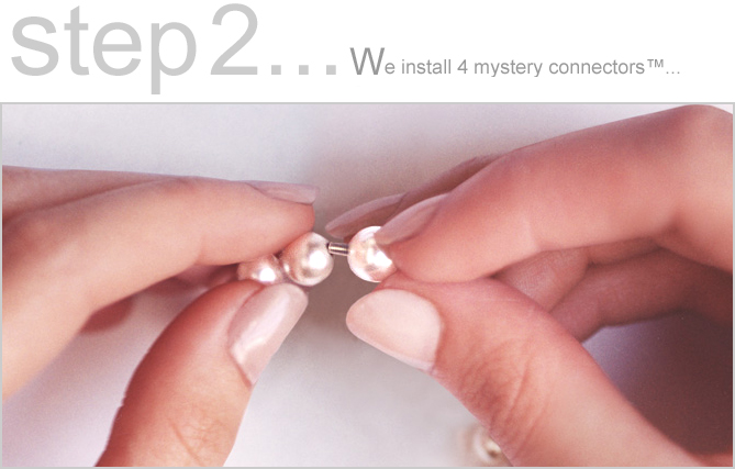 About The Mystery Pearl&#0153 Necklace Clasp