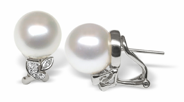 Adonia White South Sea Pearl Earring