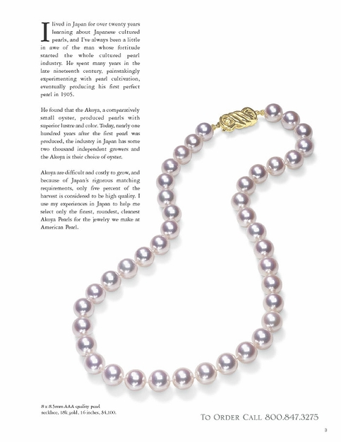American Pearl 2003 Catalog—Page 3