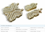Butterfly 18K Yellow Gold Clasp