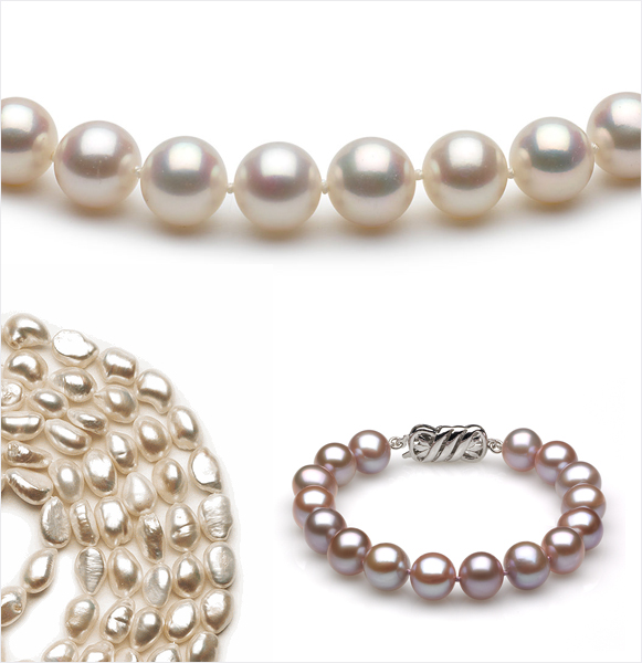 Cultured Pearls Versus Freshwater Pearls | Pearls Shown Above are All Freshwater