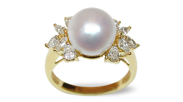 Electra A White Australian South Sea Pearl Ring American