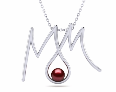 Everlasting Mom Pearl Pendant