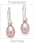 Freshwater Cultured Pearl Earrings Page