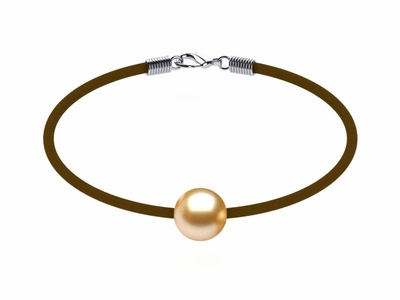 Golden Pearl Bracelet St. Barts Deep Golden