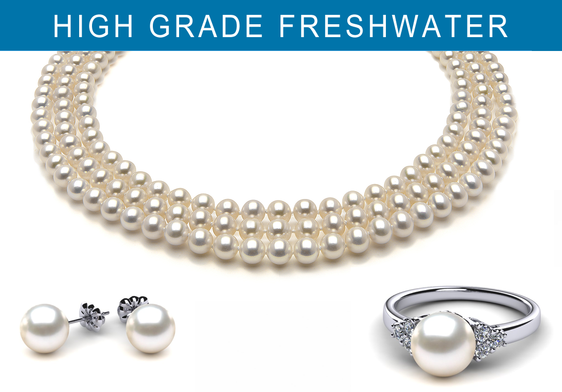 High Grade Freshwater<sup>TM</sup> Pearls