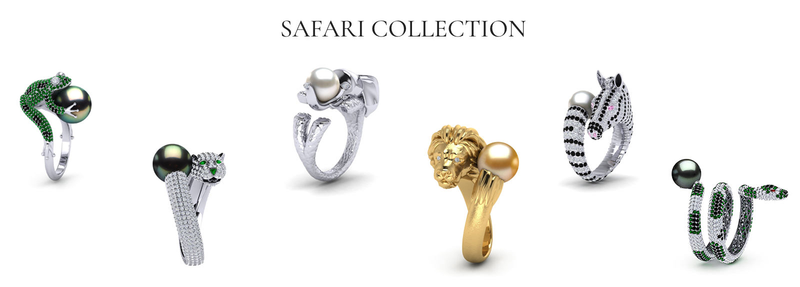 PEARL RING SAFARI COLLECTION
