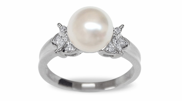 Jelena Japanese Akoya Cultured Pearl Ring
