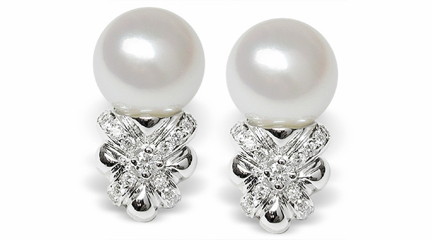 Jobina a Japanese Akoya Cultured Pearl Earring