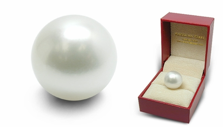 Keepsake - 16.4mm Loose White Australian South Sea Cultured Pearl