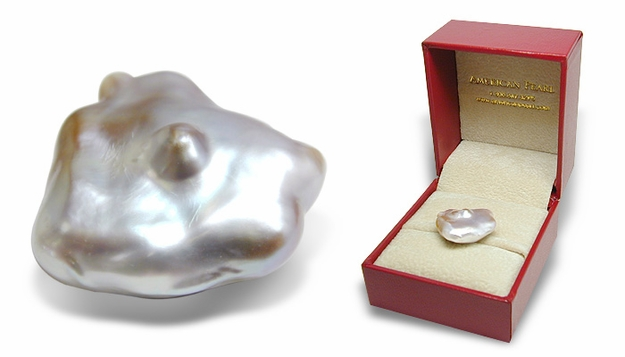 Keepsake - 18mm  Freshwater Biwa Cultured Pearl
