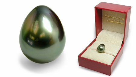 Keepsake - Loose 10mm Black Tahitian Cultured Pearl