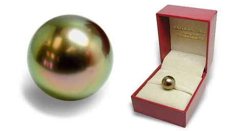Keepsake - Loose 11.2mm Black Tahitian Cultured Pearl