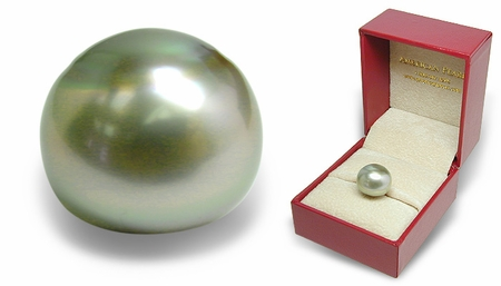 Keepsake - Loose 13.2mm Black Tahitian Cultured Pearl