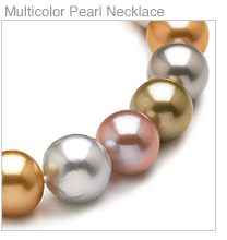 Multicolor South Sea Cultured Pearl Necklaces