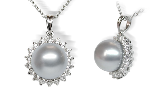 black rhapsody pendant m pearl sea south mikimoto