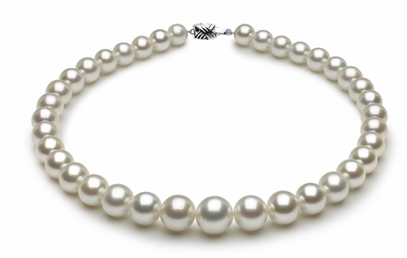 South Sea Pearl Necklace Serial Number | white-south-sea-round-pearl-necklace-14-8mmto10mm-aaa-16inch-s8-dr03030w-b22
