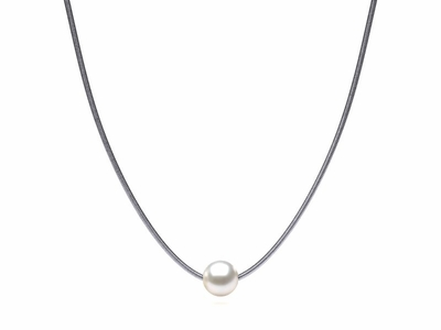 South Sea Pearl Snake Chain Pendant