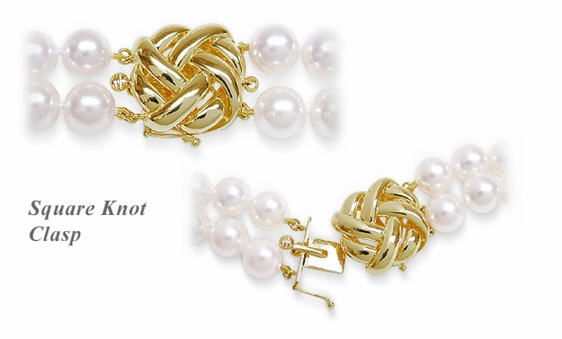 Square Knot Clasp  Stock# C-102