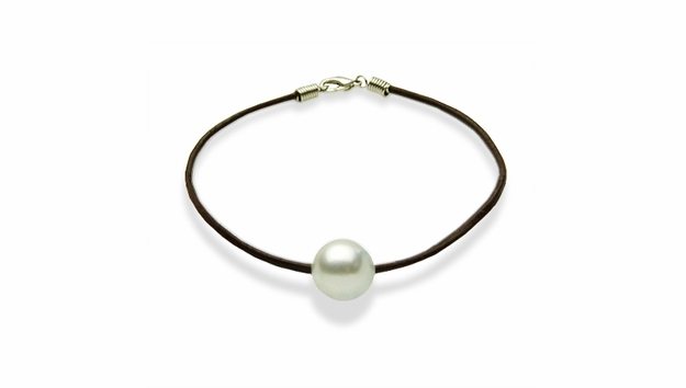 St. Barths White South Sea Pearl Bracelet