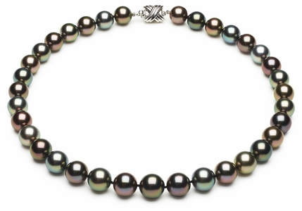 Tahitian Multicolor Pearl Necklace