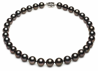 Tahitian Pearl Aubergine Necklace | 10mm11-6mm-tahitian-south-sea-pearl-necklace-true-aaa-16inch-s6-xb03010-b80