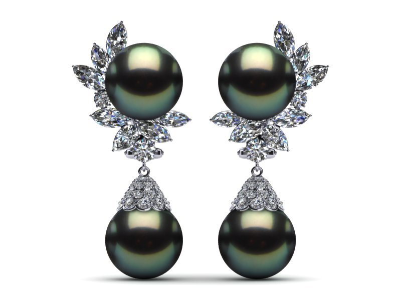 pearl p earrings akoya pearls