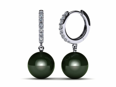 tahitian-pearl-earring-diamond-medium-huggie-black-cultured-pearl-south-sea