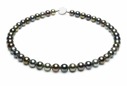 Tahitian Pearl Necklace Serial Number | 8-5mmto9-9mm-tahitian-south-sea-multi-color-pearl-necklace-aaa-16inch-s5-xa01093m-b100
