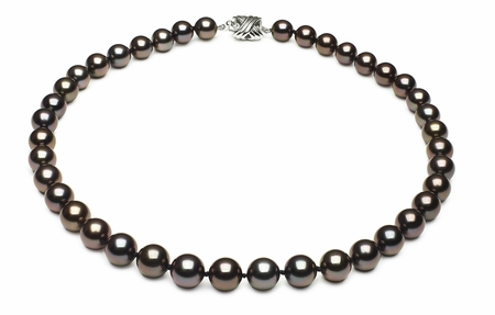 Tahitian Pearl Round Necklace Serial Number | 8mmto9-8mm-tahitian-south-sea-pearl-necklace-true-aaa-16inch-s7-xb03657-b7