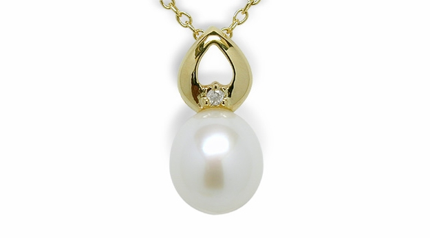 Twinkle a Freshwater Cultured Pearl Pendant