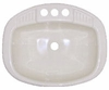 """16"""" x 20"""" Oval/ Rectangle Sink"""